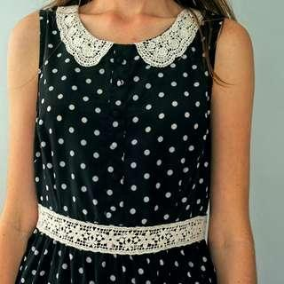 Ally Polka Dot Dress