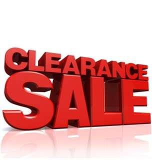 CLEARANCE SALE !   FREE SHIPPING for items above RM12. From 25 Oct till year end