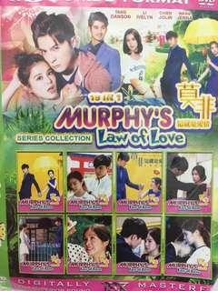 Kaset dvd drama taiwan Murphy's Law Of Love