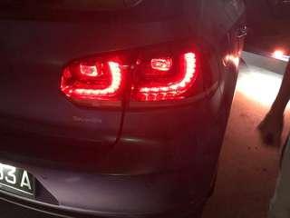 Golf r tail light original from agent