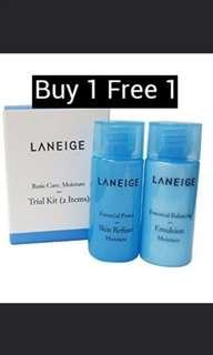 Laneige emulsion and moisturizer
