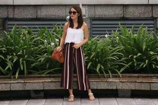 TEM Stripe Pants