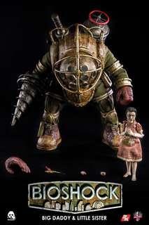 ThreeZero Bioshock Big Daddy and Little Sister BNIB Hot Toys