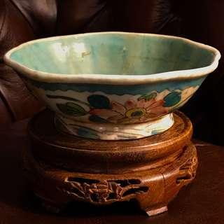 Antique Ching Porcelain Bowl