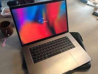 Macbook Pro 15 Retina Top of the