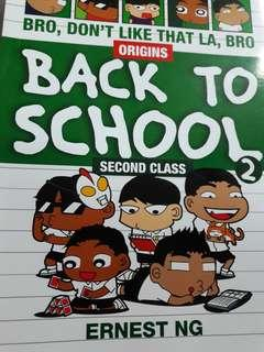 Back To School (Funny Comic)