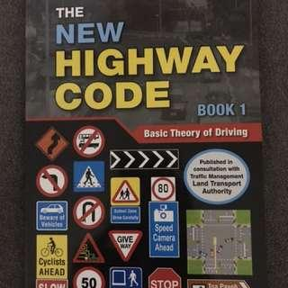 Basic theory driving book 1 by Mighty Minds