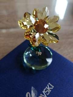 Swarovski Rocking Flower Eve 施華洛世奇水晶 太陽花擺設