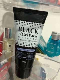 Mask 日本去黑頭撕破式面膜 black x gel pack