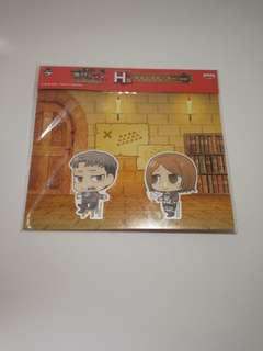 Attack On Titan Cloth Stickers [ OFFICIAL ]