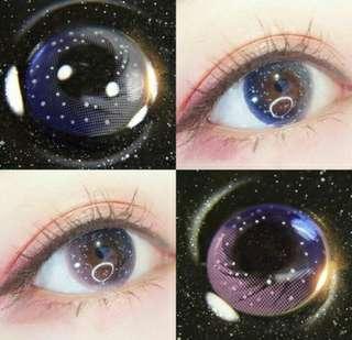 Starry Galaxy Eye Contact Lens