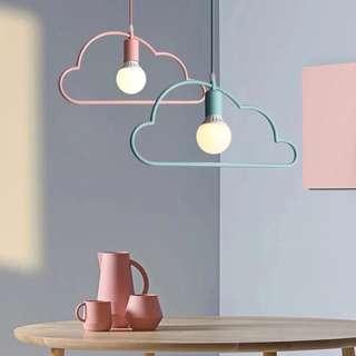 雲朵吊燈馬卡龍吊燈吸頂燈LED燈