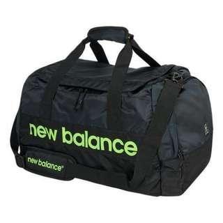 New Balance Gym Duffel Bag in Black/Lime [AAB63003]