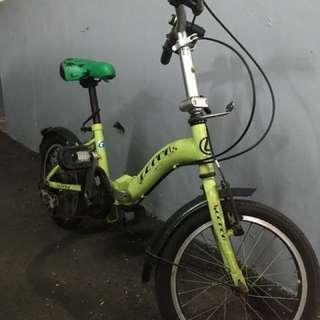 兒童折疊腳踏車