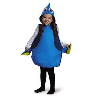 Halloween Kids Costume Disney Finding Dory Costume Tunic for Kids (Shirt and Pant not included) for Children's Birthday Halloween christmas Party
