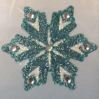 Body Jewelry (Stick on Tattoo Sticker) - Frozen Snow Flake