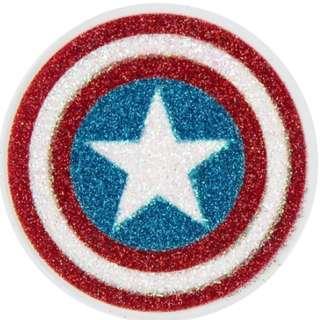 Body Jewelry (Stick on Tattoo Sticker) - Captain America's Shield