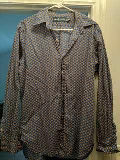 Unisex Ralph Lauren Dress Shirt