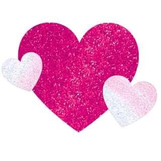 Body Jewelry (Stick on Tattoo Sticker) - 3 Hearts