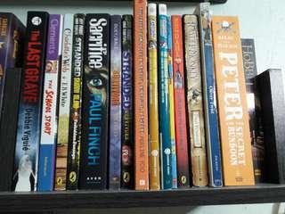 Different variety of books