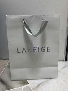 Laneige paper bag