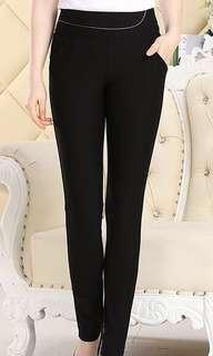 Brand New Good Quality Black Long Pants
