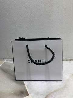 Chanel mini paper bag