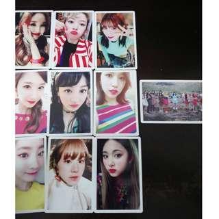 WTS TWICE Signal PO cards