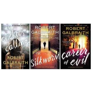 EBOOKS: Cormoran Strike (Books 1-3) by JK Rowling as Robert Galbraith