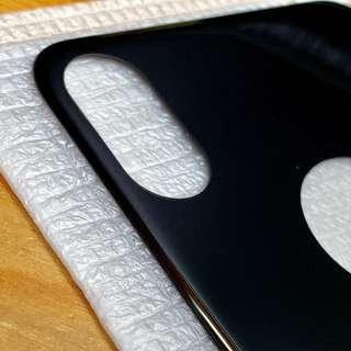 全新 iPhoneXS / iPhone X 3D 黑色玻璃背膜 背貼 超好手感