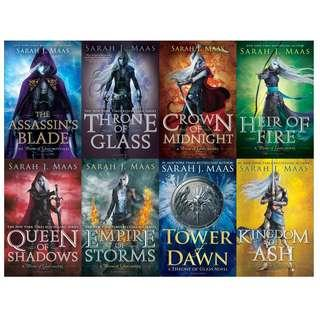 EBOOKS: Throne of Glass series (Book 0.5 - 7) by Sarah J. Maas