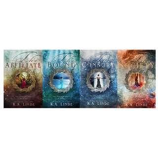EBOOKS: Ascension series (Book 1 - 4) by K.A. Linde