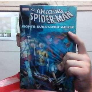 The Amazing Spider-Man Fights Substance Abuse Comic Book