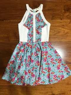 APARTMENT 8 SIZE SMALL FLORAL DRESS