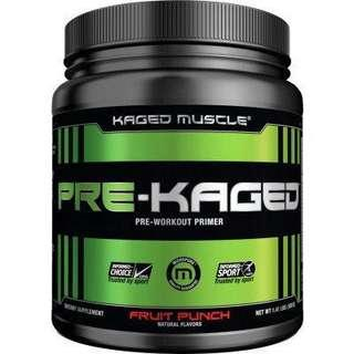 🚚 [INSTOCK] Kaged Muscle Pre-Kaged