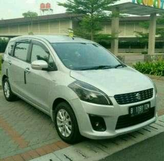 Suzuki Ertiga GX 2012 MT, Silver..TOP Condition