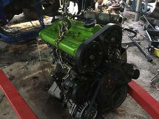 Enjin kosong evo 4g63