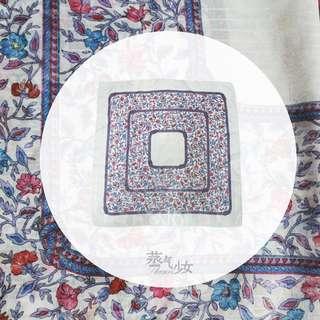 Clara-古董絲巾