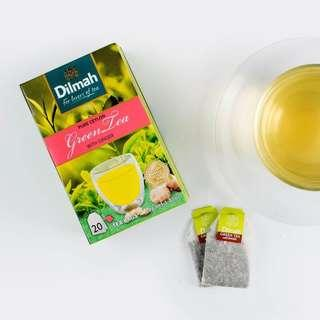 Dilmah Pure Ceylon Green Tea with Ginger 錫蘭薑味綠茶