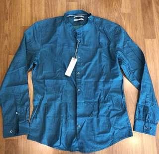 Esprit L Size Slim Fit Shirt
