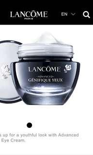 Advanced Génifique Yeux Youth Activating Smoothing Eye Cream