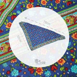 古著三角巾-Adelheid