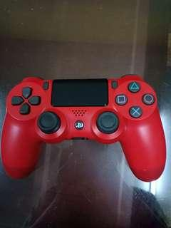 [NO BOX] Red PS4 Controller