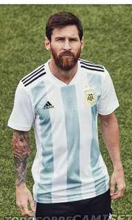 Authentic Argentina Adidas world cup 2018 kit soccer jersey