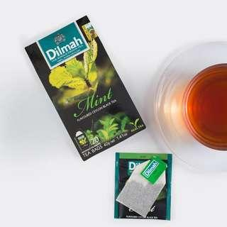 Dilmah 100% Pure Ceylon Mint Flavoured Black Tea 100% 純錫蘭薄荷味紅茶 (Single Origin)