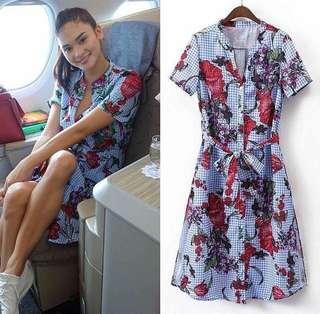 Pia Floral Dress