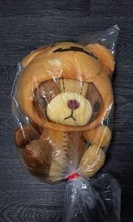萬聖節發條熊 Clockwork Truffe Bear 日本景品 夾公仔