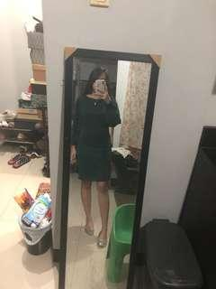 LOVE 21 GREEN DRESS