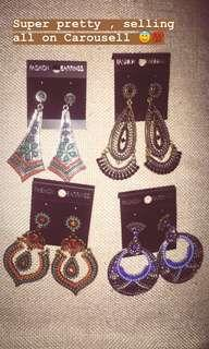 Pretty Ethnic Earrings , Jhumka