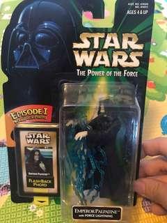 Star Wars Figures Emperor Palpatine